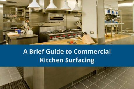 commercial kitchen surfacing