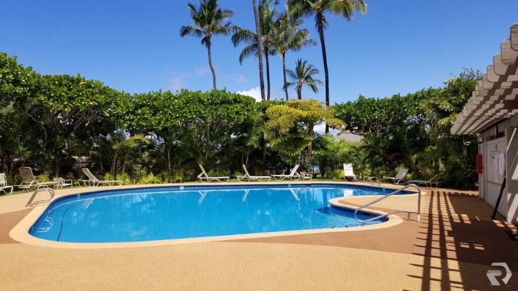 Hawaii Pool Surface